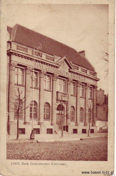Aleja Kościuszki, Bank Gospodarstwa Krajowego