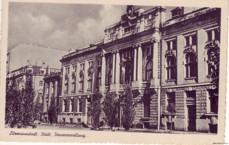 Aleja Kościuszki, Bank Polski, Bank Państwa