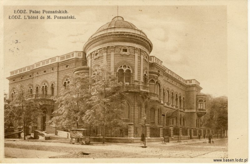 Gdańska, Wyższa Szkołą Muzyczna, Pałac Poznańskiego