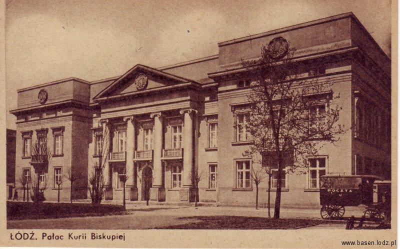 Piotrkowska, Pałac Kurii Biskupiej