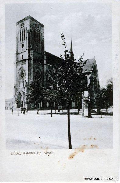 Piotrkowska, kościół katedralny Św Stanisława Kostki