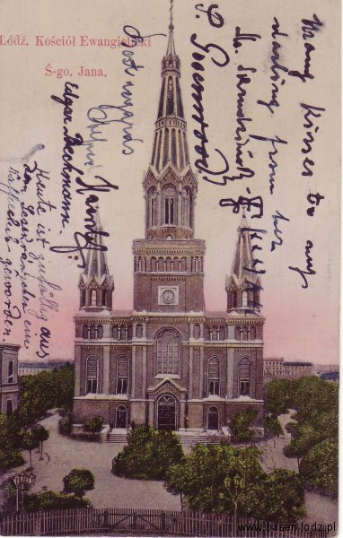 Sienkiewicza, kościół Św Jana