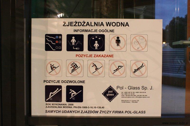 Zjeżdżalnie zewnętrzne Aquapark Fala Łódź