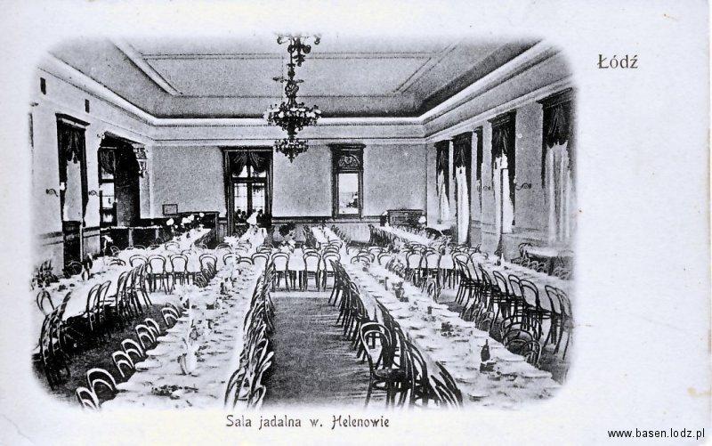 Sala jadalna w Helenowie