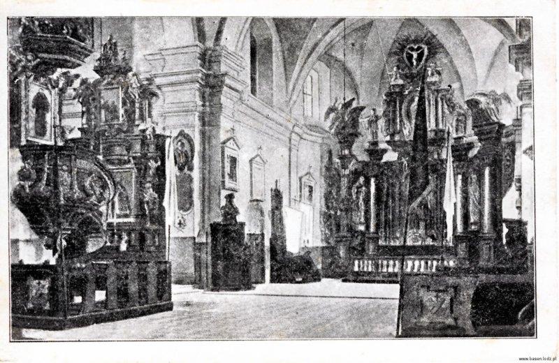 Łagiewniki wnętrze klasztoru