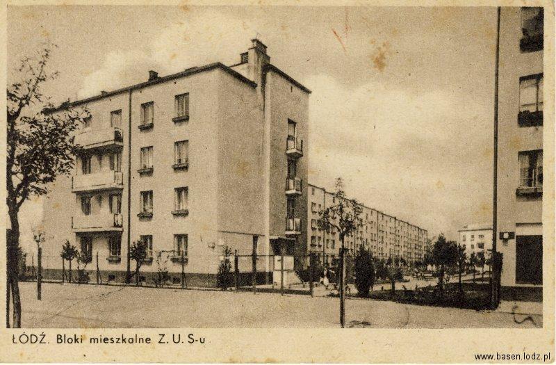 Bloki mieszkalne ZUSu