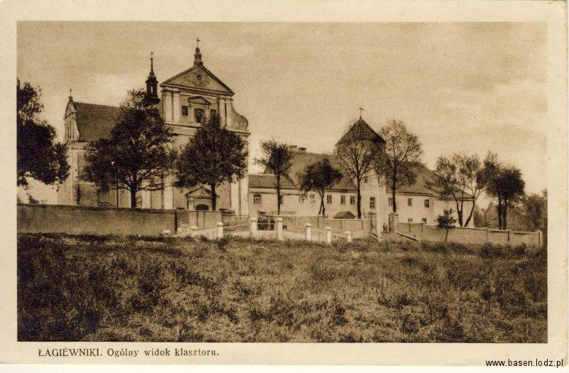 Łódź, Łagiewniki klasztor