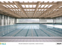 Aquapark Fala Łódź - basen sportowy