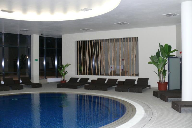 basen do pływania na golasa - Jakuzzi